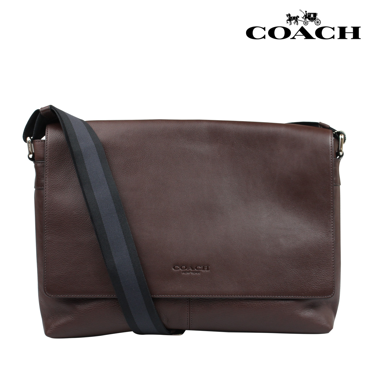Coach Men S Messenger Bag Shoulder F71726 Mahogany Sullivan Leather 11 19 New In Stock