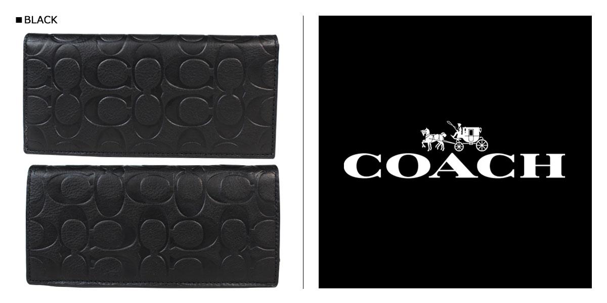 [SOLD OUT]教练COACH人钱包长钱包F75026黑色