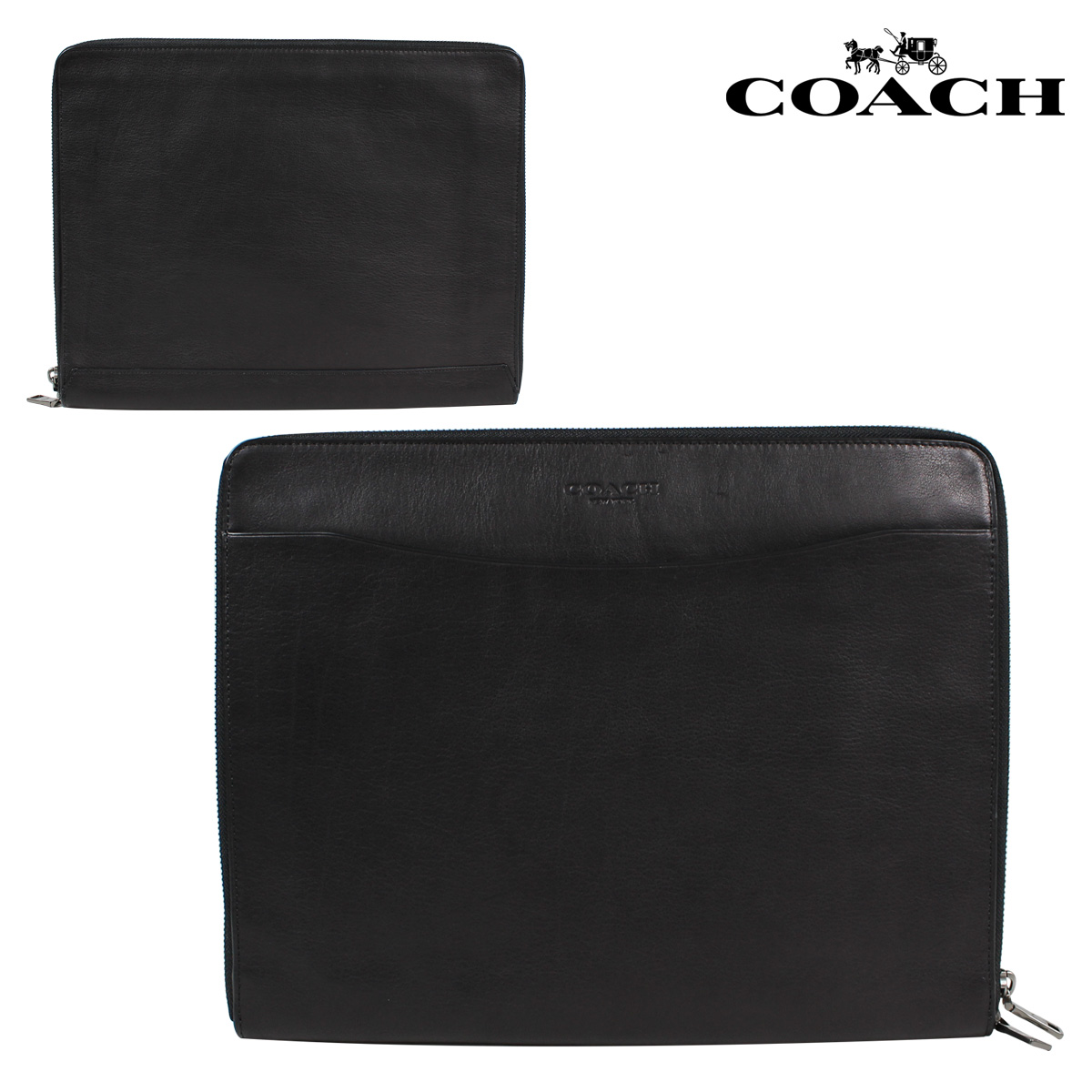 Sold outcoach coach men bag clutch bag tablet pc case f63398 black