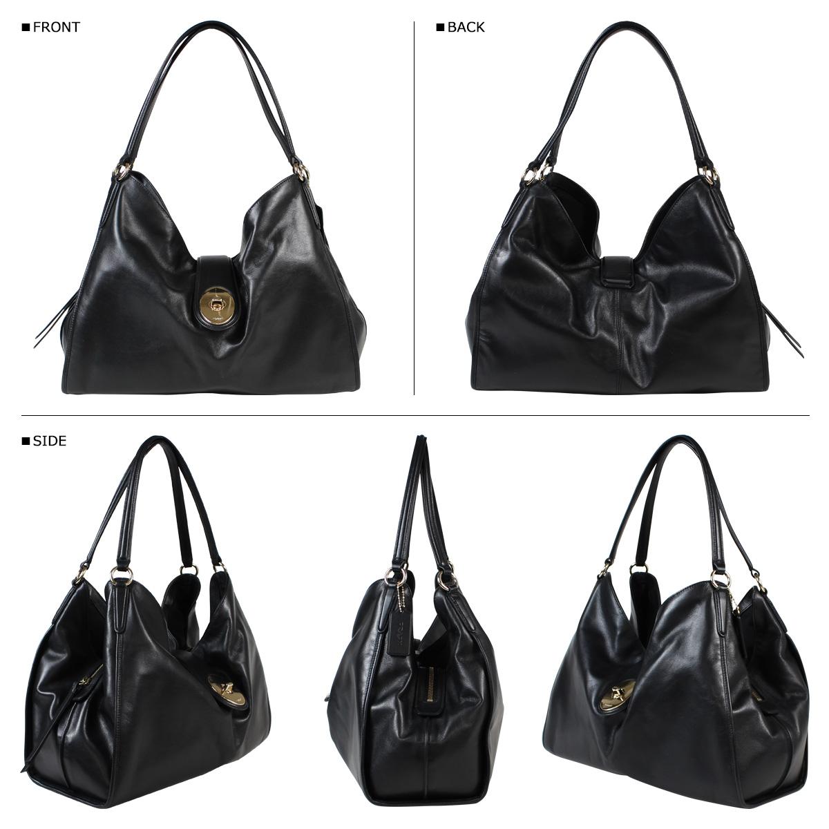 My New Coach Bag Handbag F37637 Black Womens 823 Back In Stock
