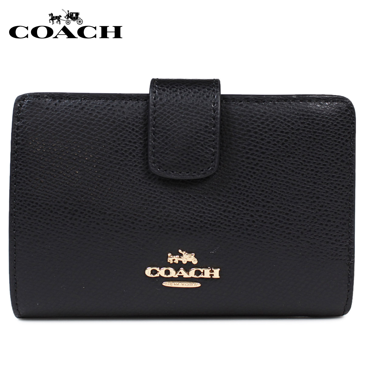 da11f1c2a68f2 ALLSPORTS  Fold two coach purse COACH purses Womens F54010 black  11 ...