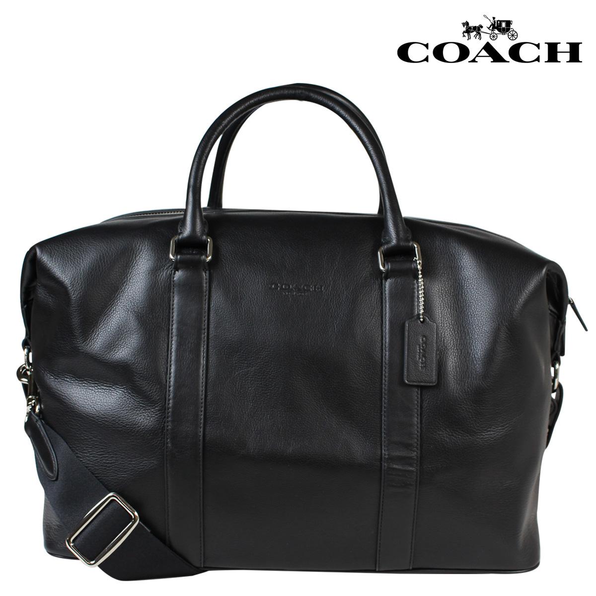 COACH コーチ メンズ バッグ ボストンバッグ F54765 ブラック [186] 【決算セール 返品不可】