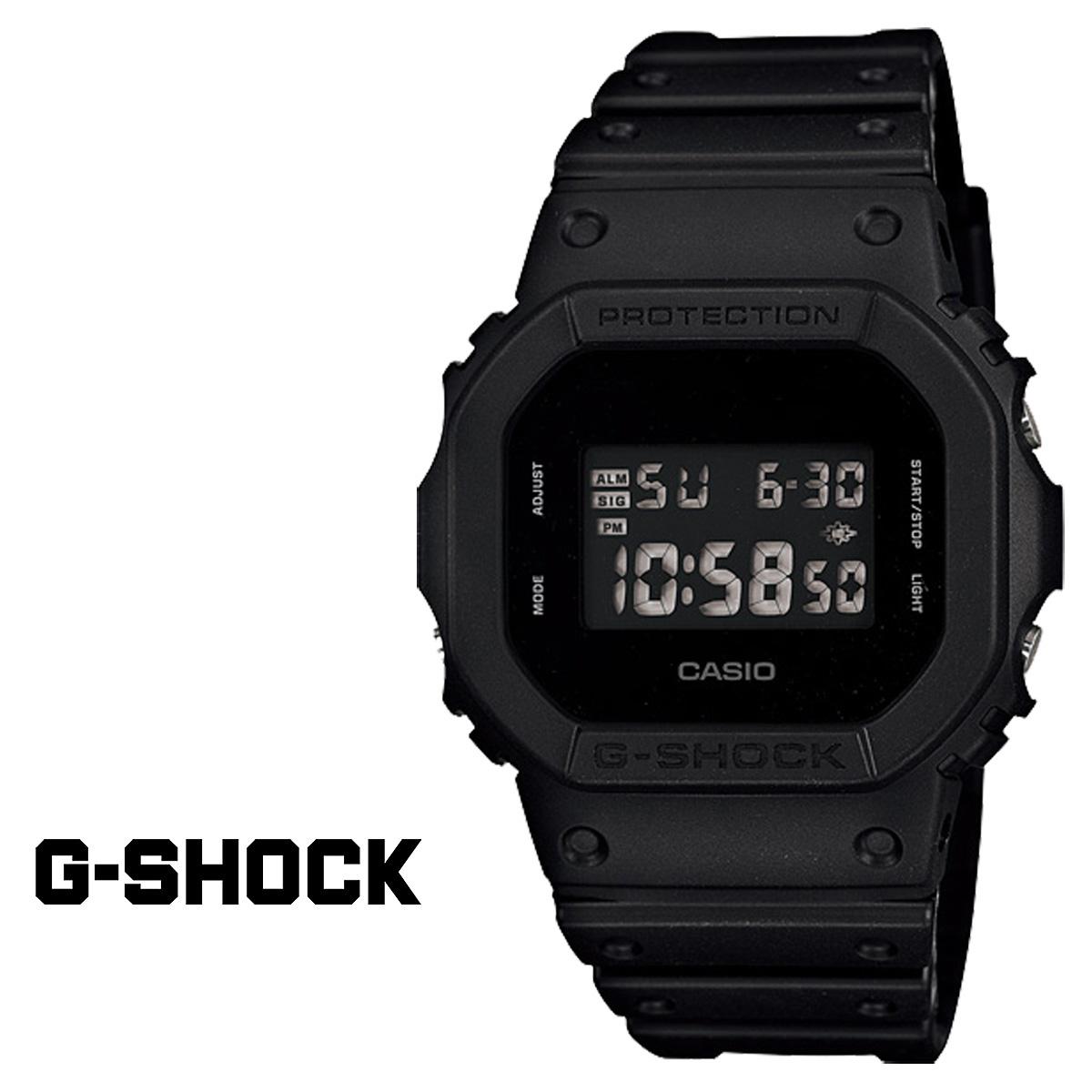 要點兩倍卡西歐CASIO G-SHOCK手表[男子女子黑色] SOLID COLORS鐘表男女兩用DW-5600BB-1JF [5/29再入貨物][正規的] 02P01Jun14]