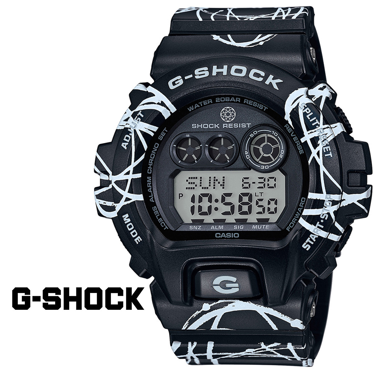 b93f428e850 CASIO Casio g-shock watch collaboration FUTURA GD-X6900FTR-1JR