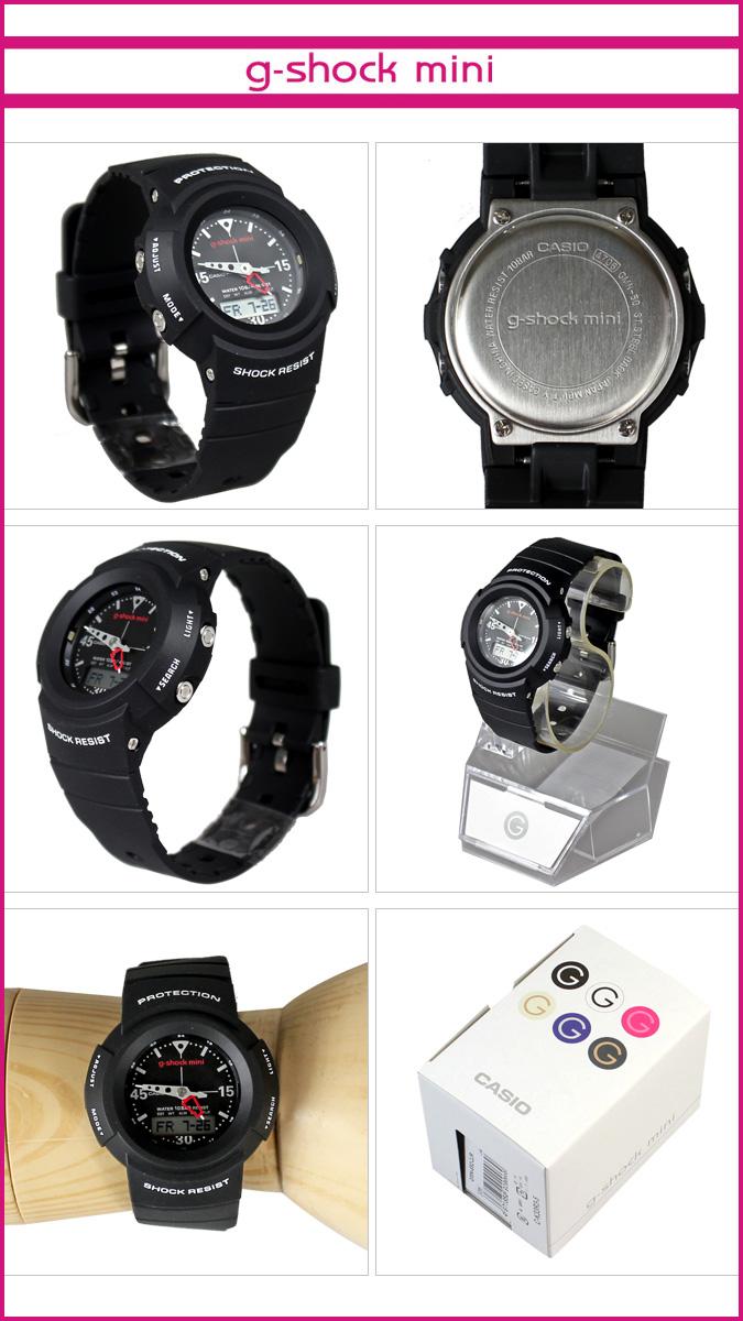 [賣出]-凱西歐 GMN-50-1BJR 凱西歐 g 衝擊迷你手錶 [黑色] 女裝男裝手錶