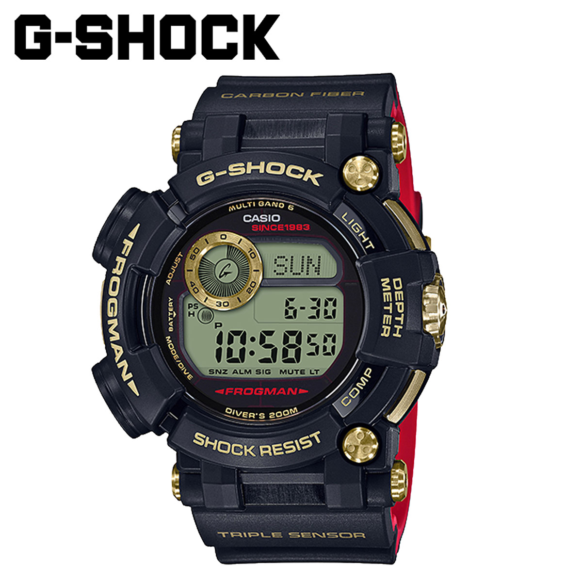 CASIO G-SHOCK カシオ 腕時計 GWF D1035B 1JR 30周年 ジーショック G-ショック Gショック メンズ レディース ブラック