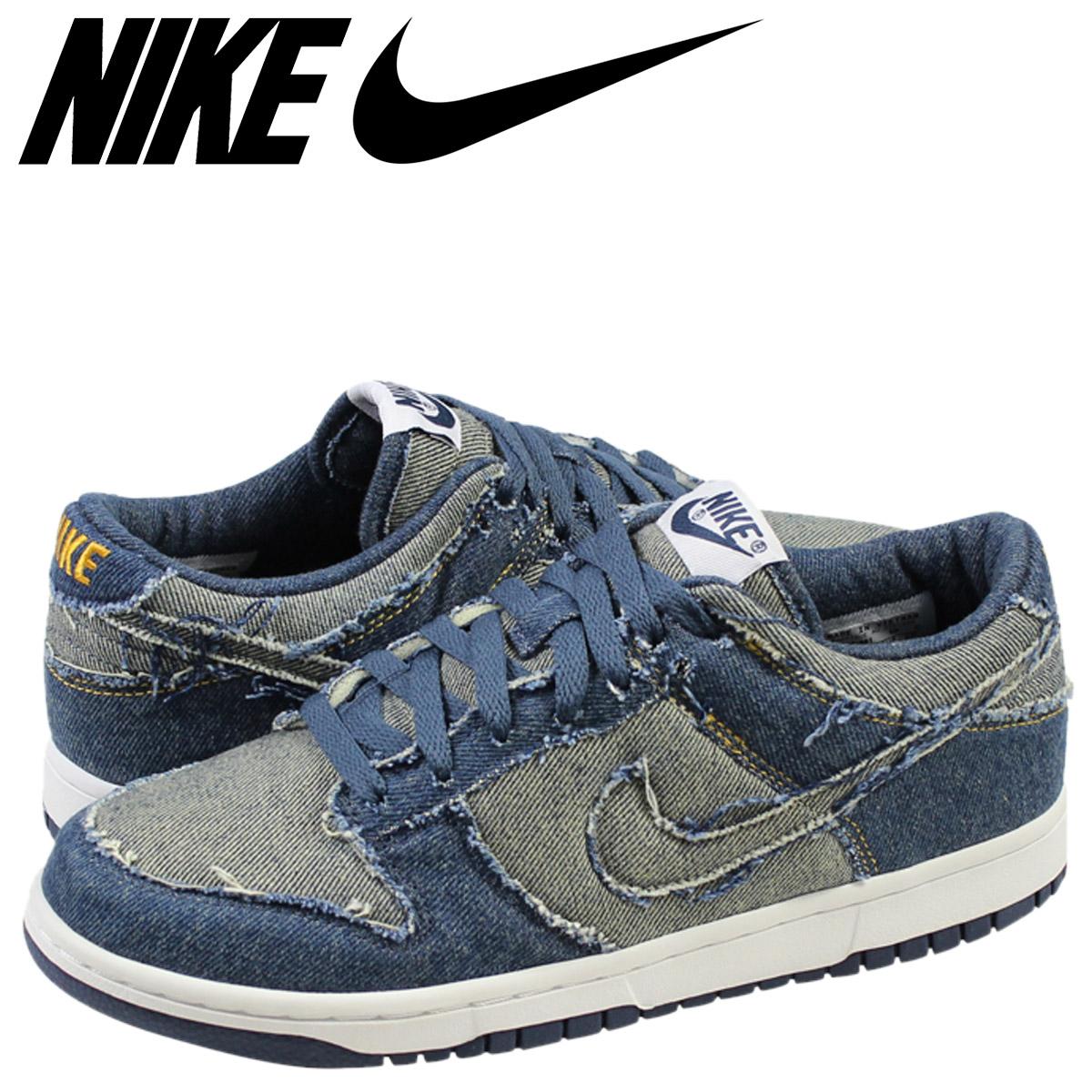 online retailer b74c6 4e6da NIKE Nike dunk sneakers DUNK LOW CL LIMITED DENIM dunk low limited denim  304,714-441 indigo men