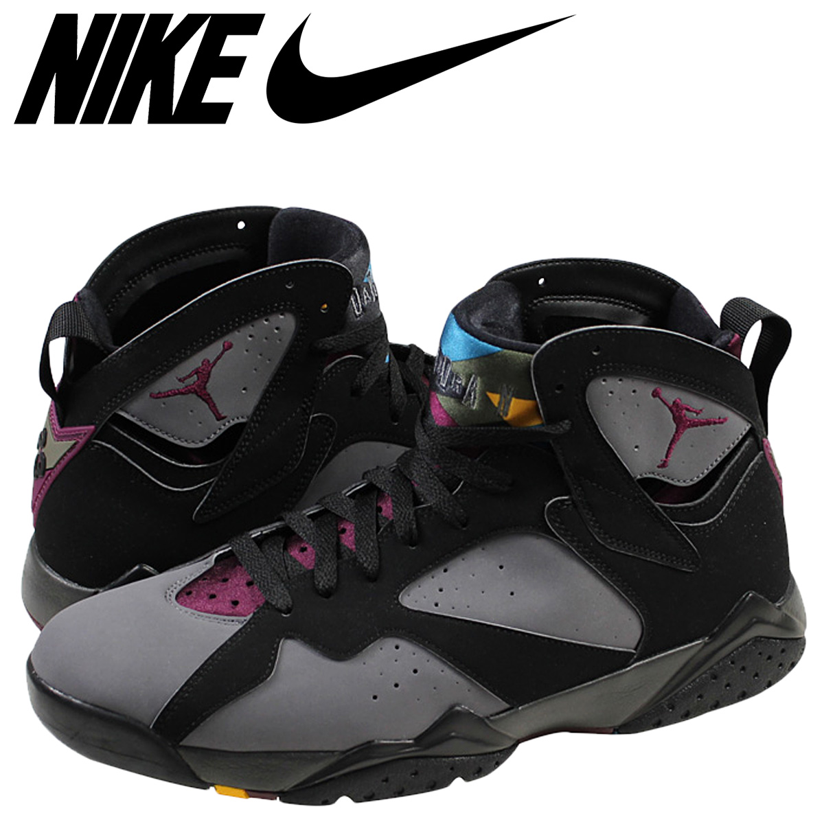 Nike NIKE Air Jordan sneakers AIR JORDAN 7 RETRO BORDEAUX Air Jordan 7 retro Bordeaux 304775 034 black mens