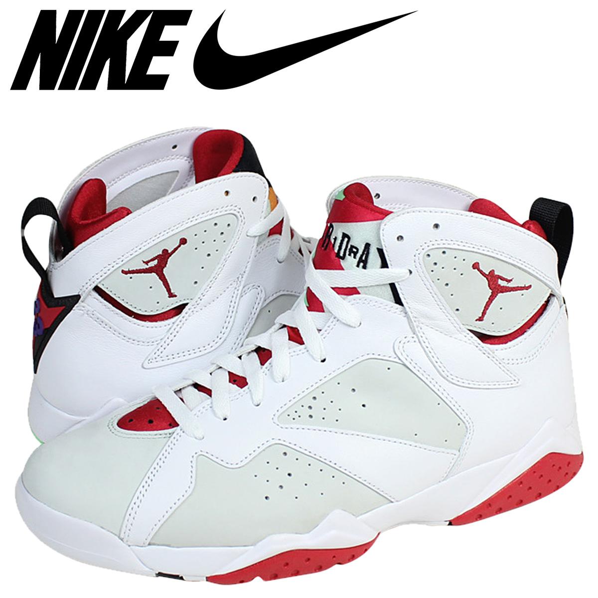 outlet store 4feb6 a93b0 Nike NIKE Air Jordan sneakers AIR JORDAN 7 RETRO HAREL Air Jordan 7  nostalgic 304,775-125 white men