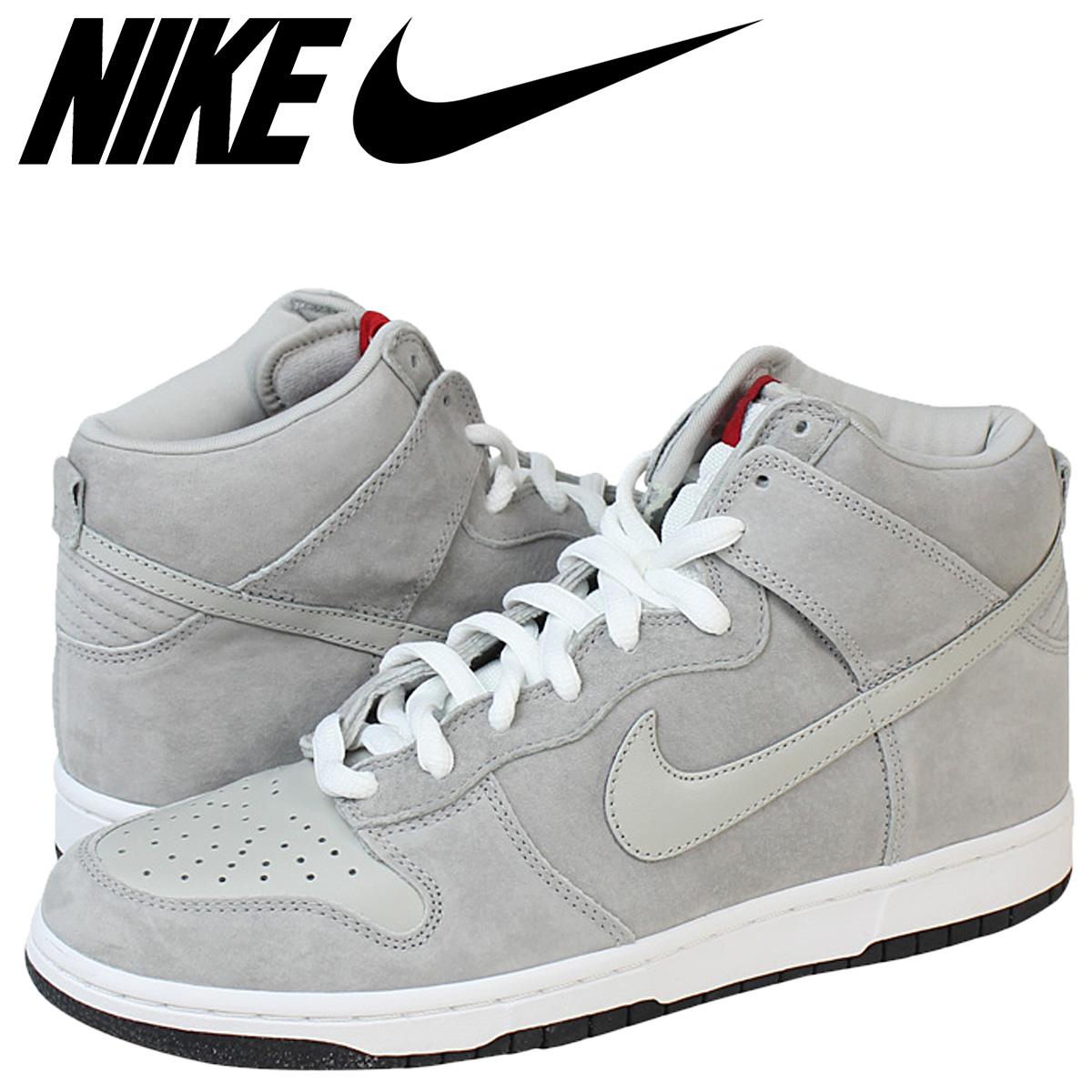 best service 62970 429ef Nike NIKE dunk sneakers PEE-WEE DUNK HIGH SB Dunk high SB 305050-004 grey  mens