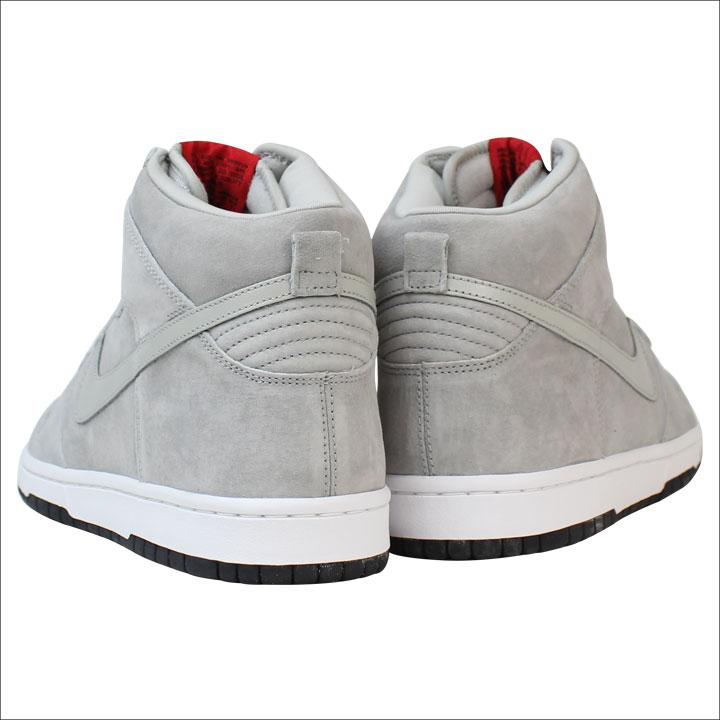best service 9e900 c6c8e Nike NIKE dunk sneakers PEE-WEE DUNK HIGH SB Dunk high SB 305050-004 grey  mens