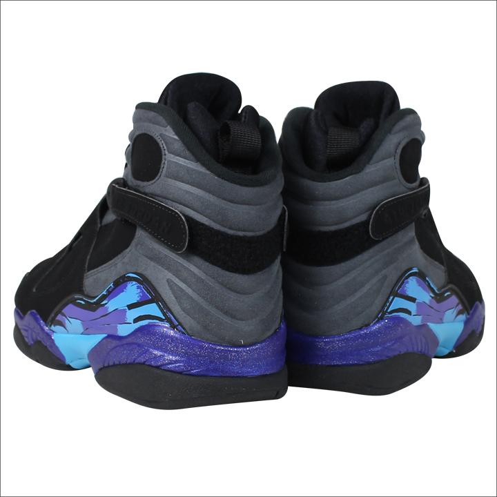 best sneakers 698c3 ae85d Nike NIKE Air Jordan sneakers AIR JORDAN 8 RETRO AQUA Air Jordan retro 8  Aqua 305381-025 black mens