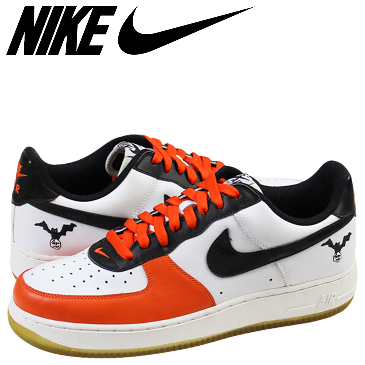 sports shoes 57e7c e2f25 Nike NIKE air force sneakers WMNS AIR FORCE 1 LOW air force 1 Halloween  307,109-103 Orangemen's