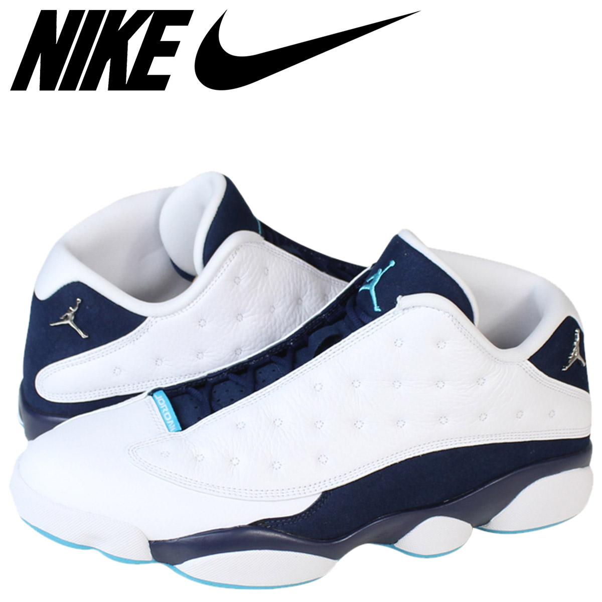 premium selection e9284 34ef7 Nike NIKE Air Jordan sneakers AIR JORDAN 13 RETRO LOW HORNETS Air Jordan 13  retro low Hornets 310810-107 white mens