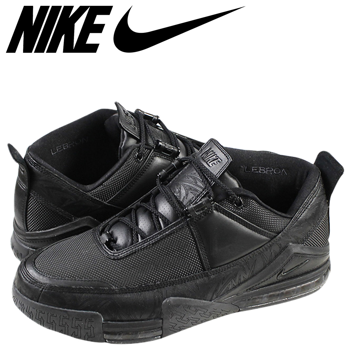 more photos d6450 b2ce6 ... ireland nike nike zoom lebron sneaker zoom lebron 2 low 310845 001  black mens 120ab 2368f