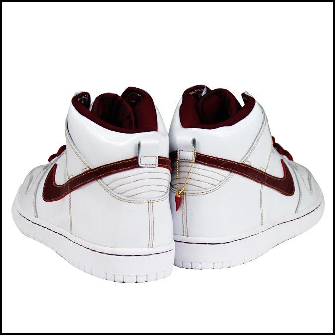 purchase cheap fd2b5 15aa2 Nike NIKE dunk sneakers DUNK HI PREMIUM SB GOODFELLAS MAFIA PACK high  premium SB mafia Pack 313171-161 white men