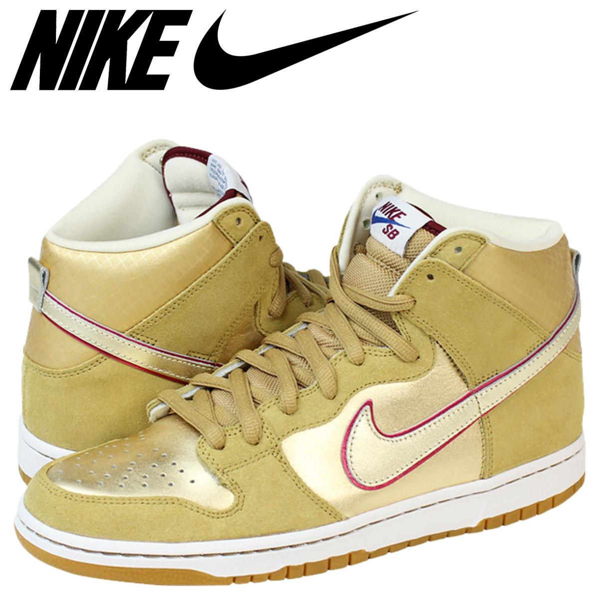 new product f1eaf 972b8 Nike NIKE dunk sneakers DUNK HI SB KOSTON Dunk high SB Coston 313171-702  gold mens