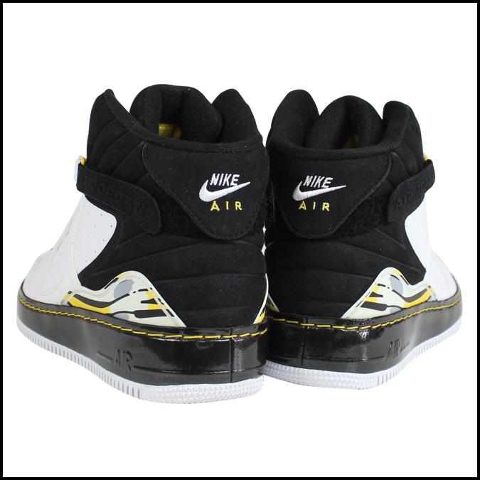 耐克NIKE空气乔丹运动鞋AIR JORDAN FUSION 8空气乔丹混合音乐8 384522-102白黑色人