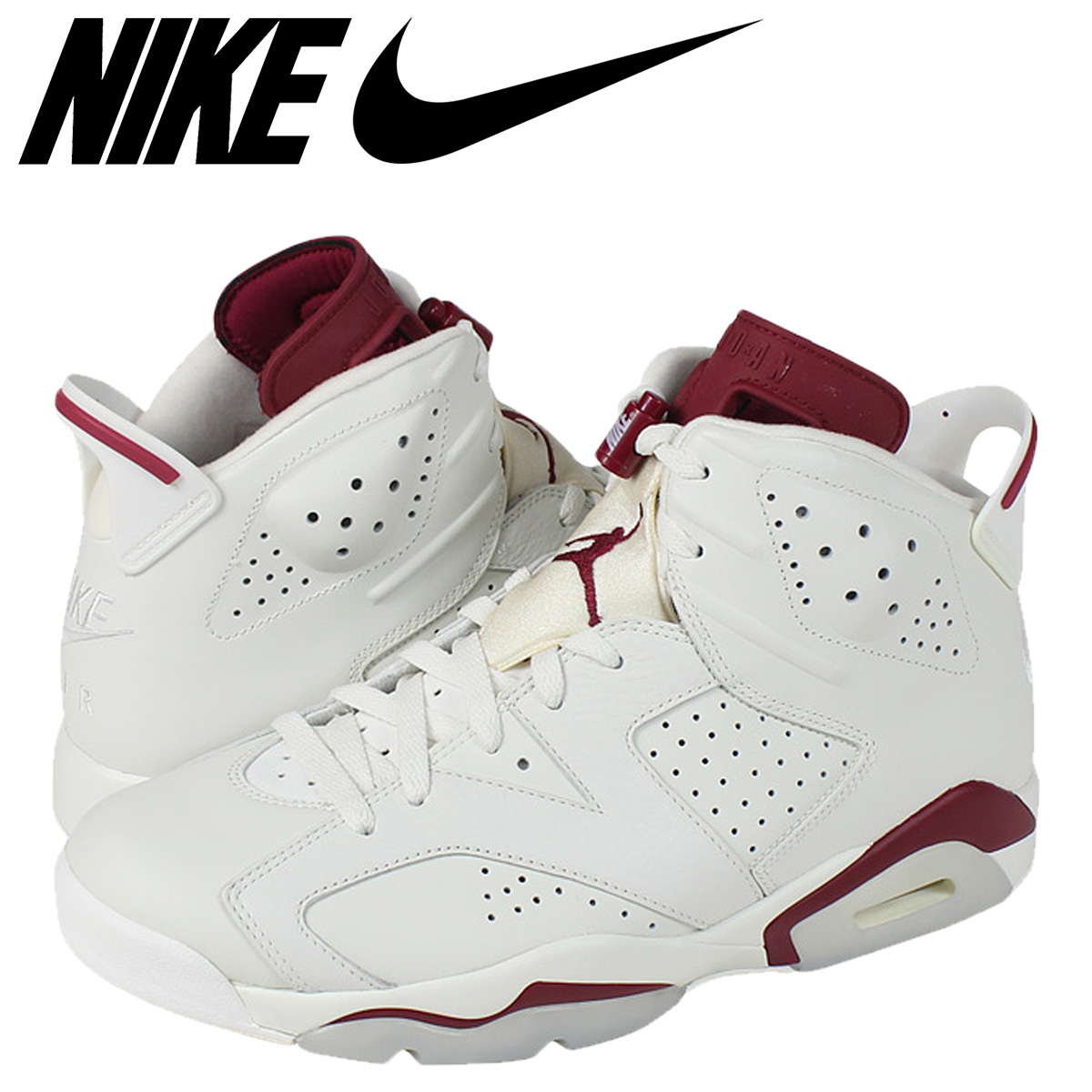 half off 5f993 7426b [SOLD OUT] Nike NIKE Air Jordan sneakers AIR JORDAN 6 RETRO MAROON Air  Jordan 6 retro 384664 - 116 off white men