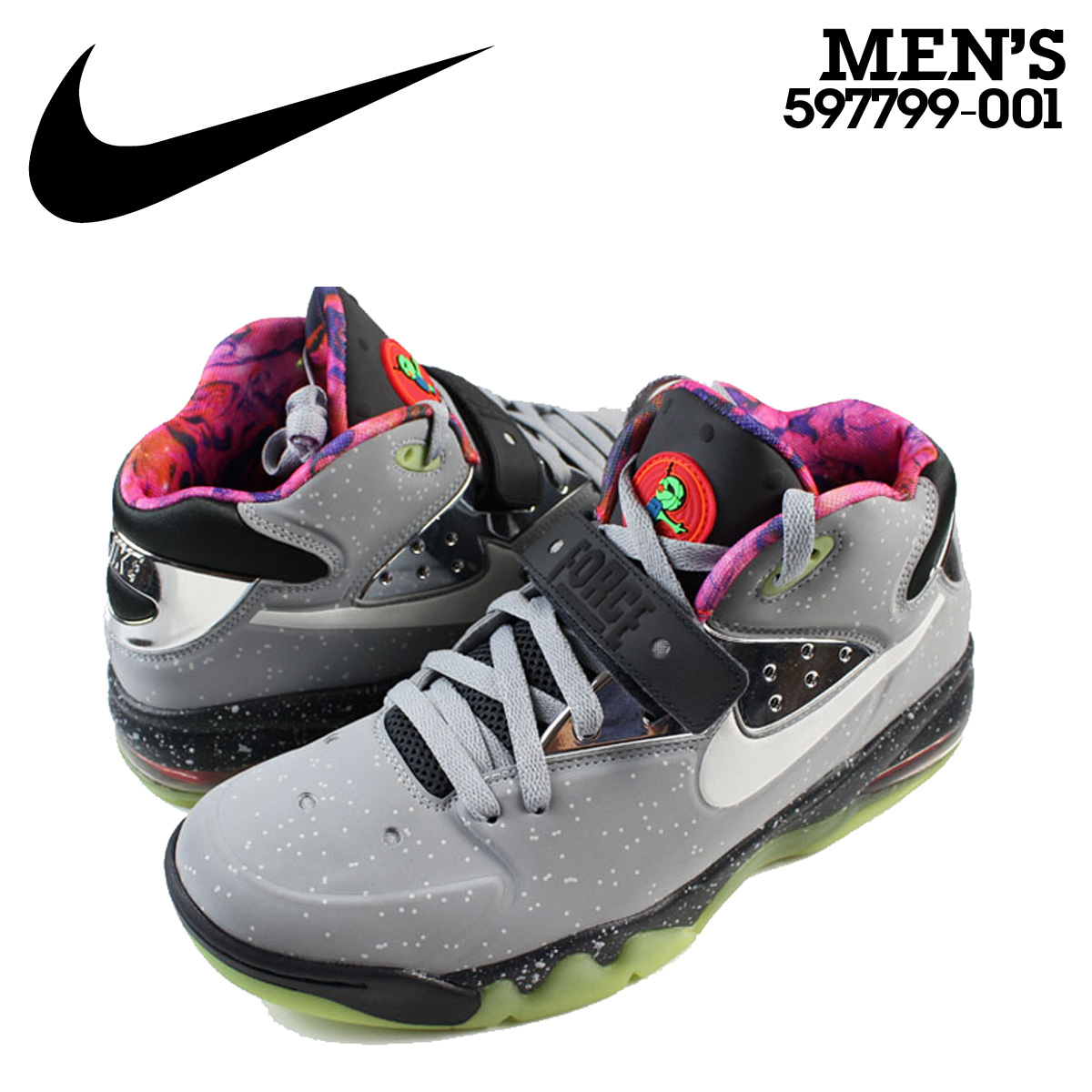 best website daa8c 52a04 Nike NIKE air force sneakers AIR FORCE MAX 2013 PRM QS air force max ALLSTAR  memory model 597,799-001 gray men