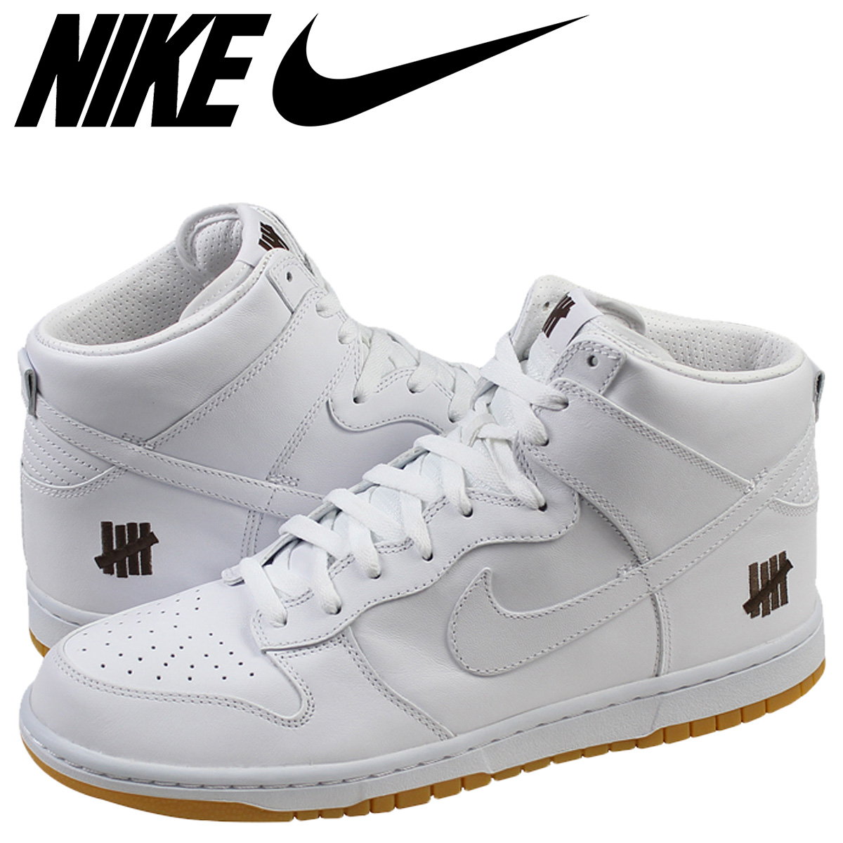 598472-110 Andy fated dunk Nike NIKE dunk sneakers DUNK PREMIUM HI UNDFTD SP