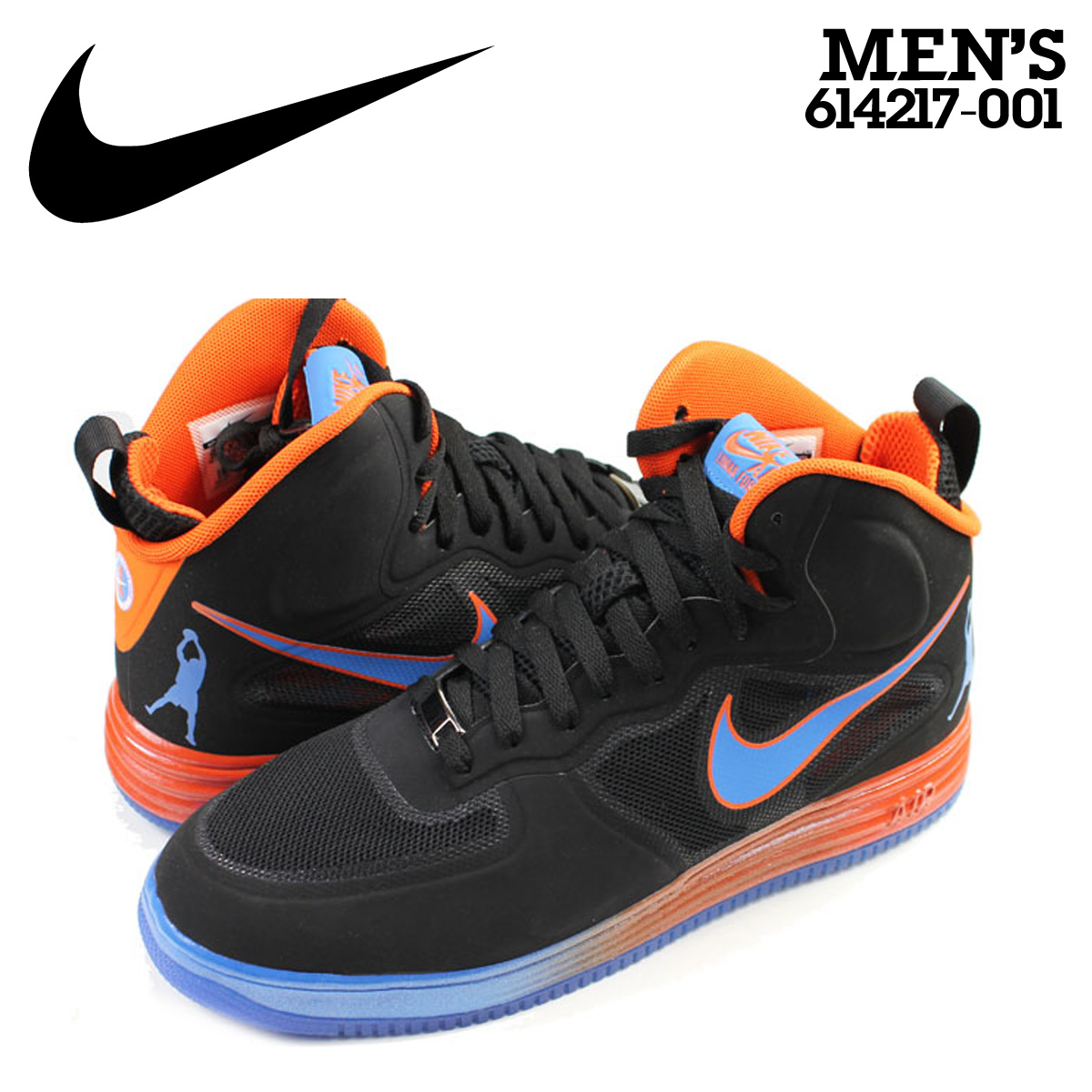 innovative design 3f3c7 572d6 Nike NIKE air force sneakers LUNAR FORCE1 MID FUSE QS