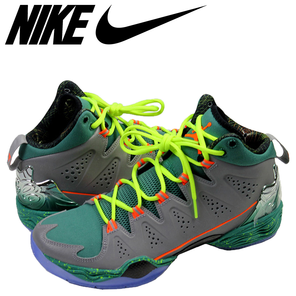 official photos 8357c ecc82 Nike NIKE Air Jordan sneakers AIR JORDAN MELO M10 CHRISTMAS Air Jordan Melo  M10 Christmas 640318-025 grey mens