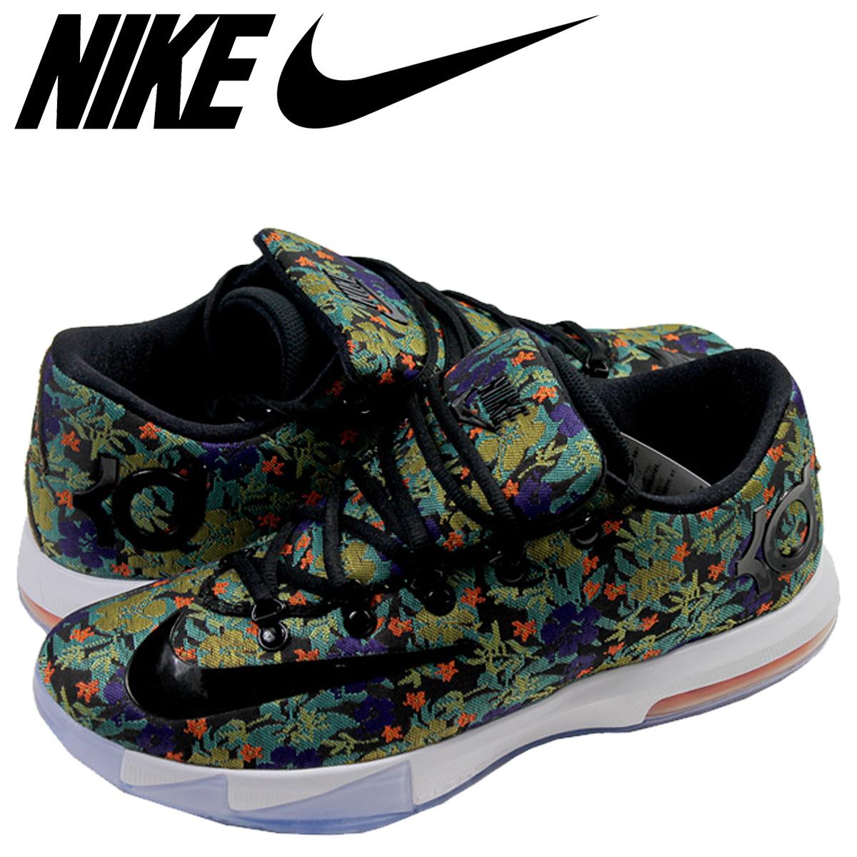 size 40 de924 e58bc Nike NIKE Kay D sneakers KD VI EXT QS FLORAL Kevin Durant 6 floral  652,120-900 multi-men