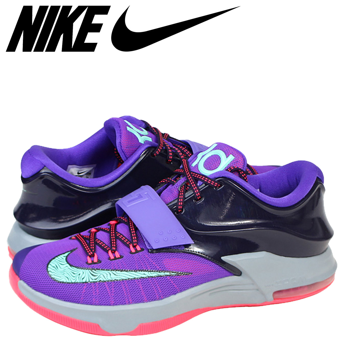 best service 00157 f77d1 Nike NIKE model sneakers KD VII Kevin Durant 7 Limited Edition 653996-535  purple mens ...
