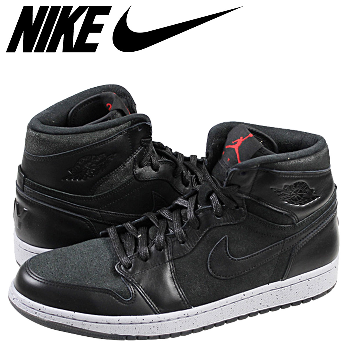 prix compétitif 55181 9b50a Nike NIKE Air Jordan-sneakers AIR JORDAN 1 RETRO HIGH NYC FLIGHT 23-Air  Jordan retro high 715060-002 black mens