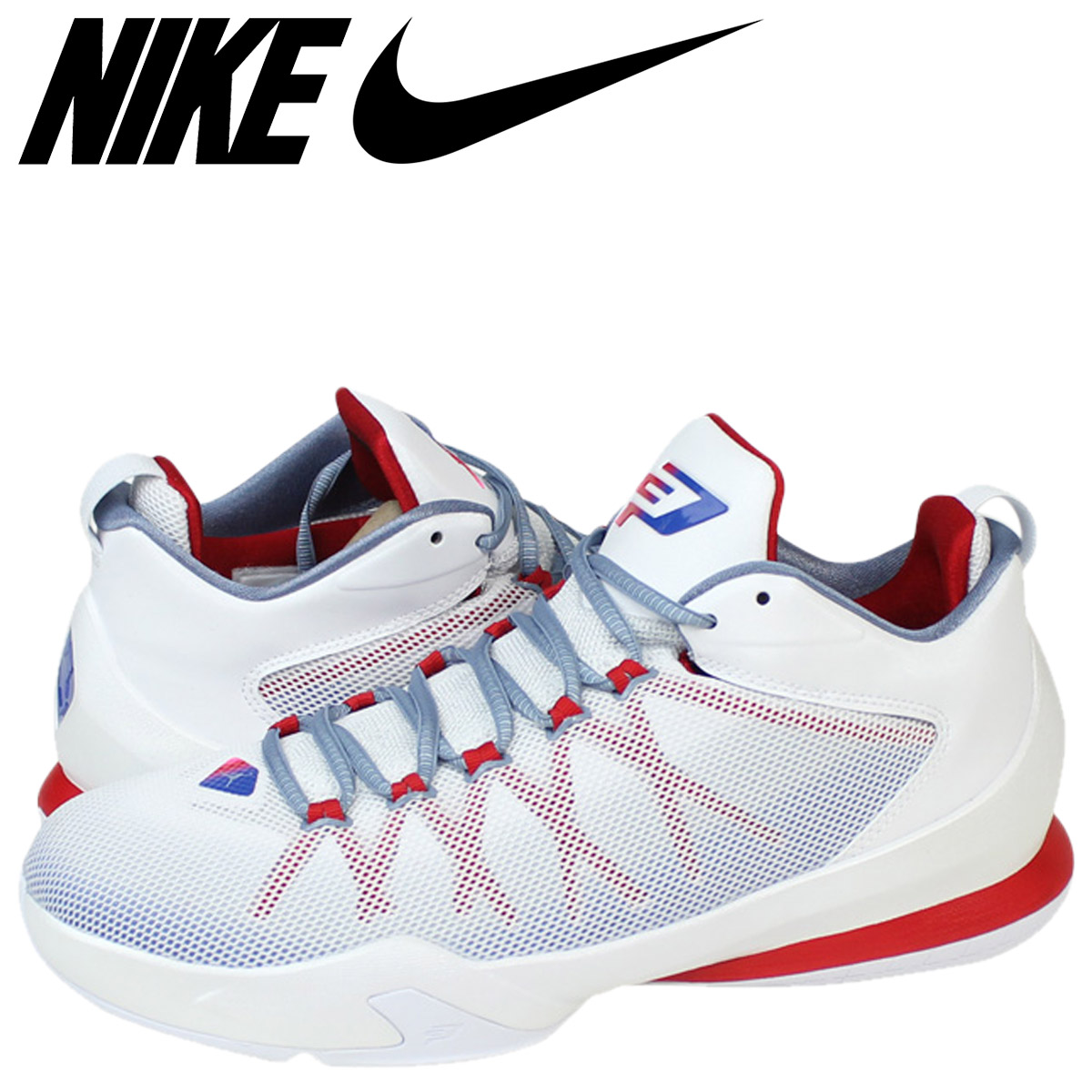 najnowsza kolekcja 100% najwyższej jakości kupuję teraz NIKE Nike Air Jordan sneakers AIR JORDAN CP3 VIII AE Air Jordan Chris pole  38 725,173-107 white men