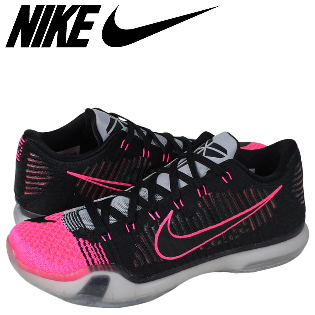 super popular 9b62f dad2c Nike NIKE Corby sneakers KOBE 10 ELITE LOW MAMBACURIAL Corby 10 elite low  747,212-010 black men