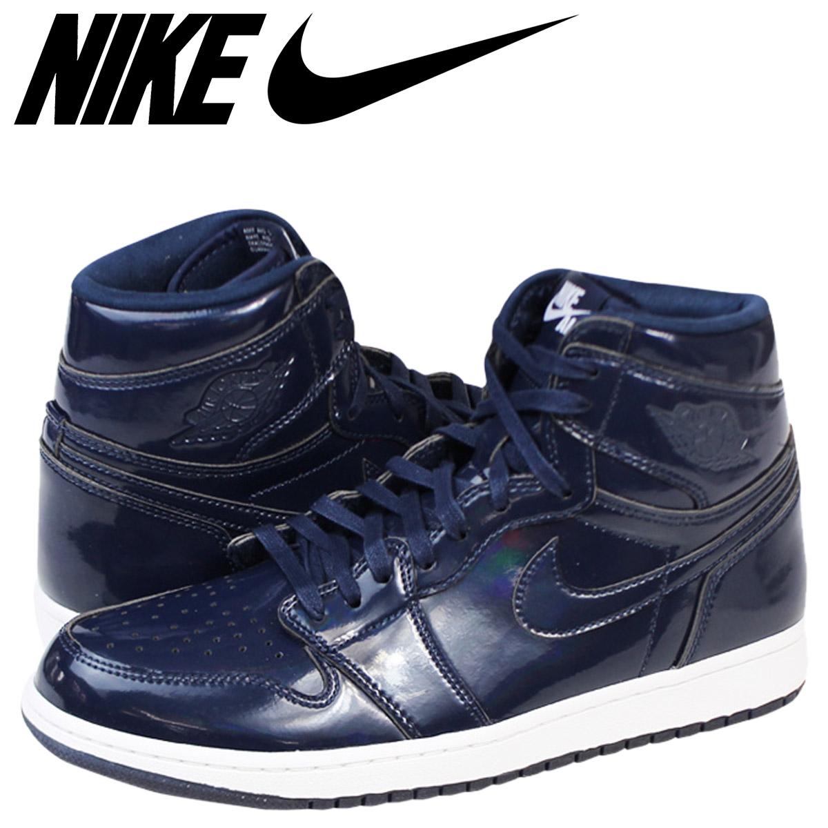 NIKE Nike Air Jordan sneakers AIR JORDAN 1 RETRO HI OG DSM Air Jordan 1 nostalgic high Dover street market 789,747 401 navy men