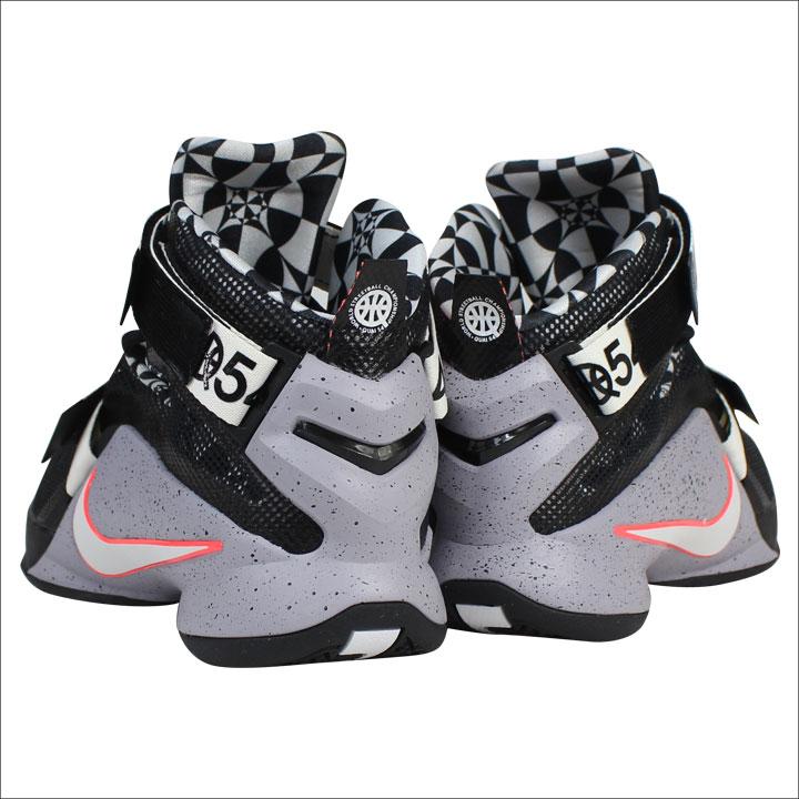 low priced 90abb 569ab Nike NIKE LeBron soldier sneakers LEBRON SOLDIER IX LMTD QUAI 54 limited  Quai 54 810803-015 grey men