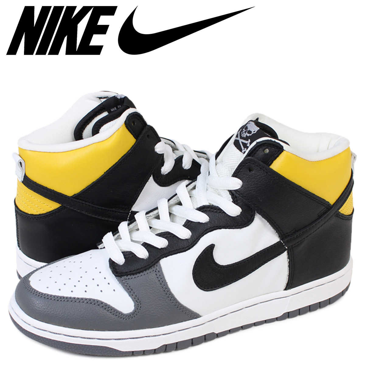 NIKE SB Nike dunk sneakers DUNK HI PRO DANIEL SHIMIZU 305,050-101 white men