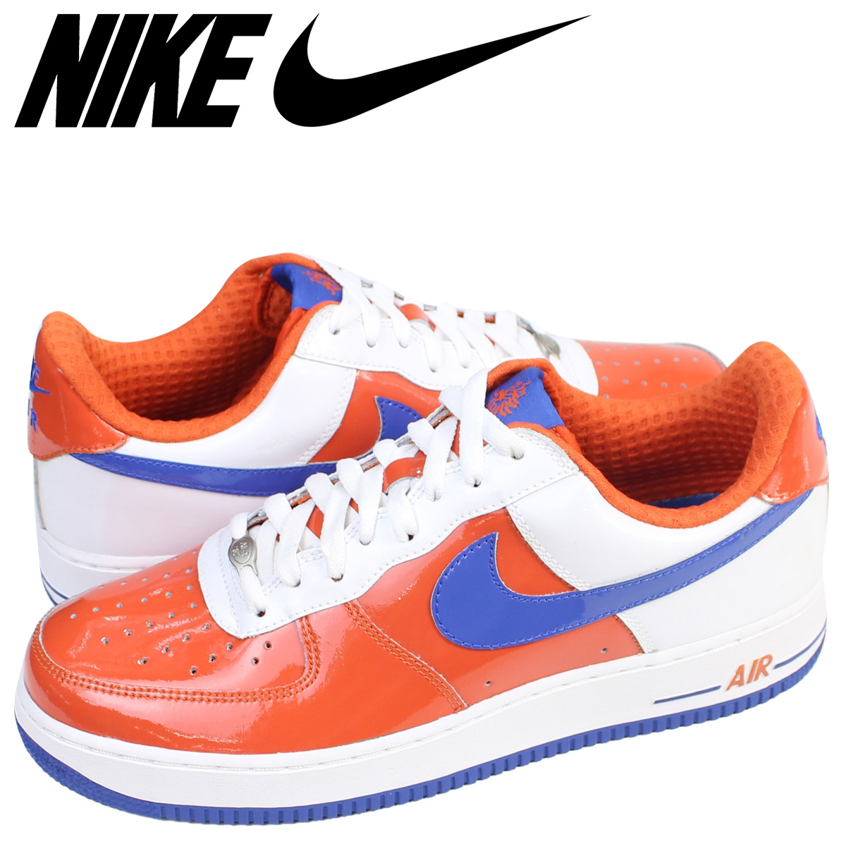 best value d5255 dbcc5 NIKE Nike air force 1 sneakers AIR FORCE 1 LOW PREMIUM WORLD CUP HOLLAND  309,096-811 low men shoes orange