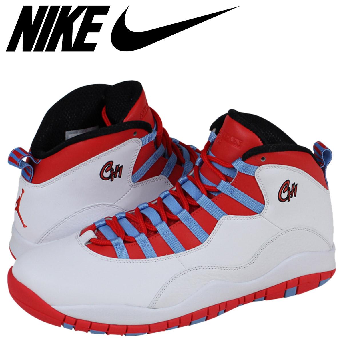 ac994fc8932 NIKE Nike Air Jordan sneakers AIR JORDAN 10 RETRO CHICAGO Air Jordan 10  retro 310805 ...
