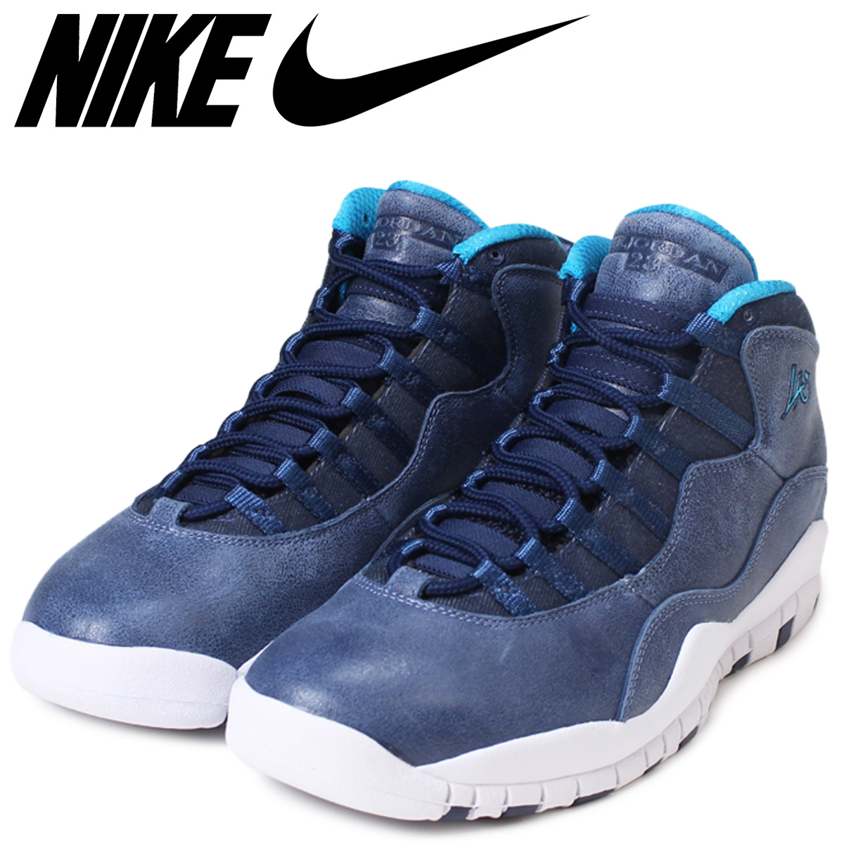 super popular d084d 3b71f NIKE Nike Air Jordan 10 nostalgic sneakers AIR JORDAN 10 RETRO LOS ANGELES  men 310,805-404 Dodgers navy
