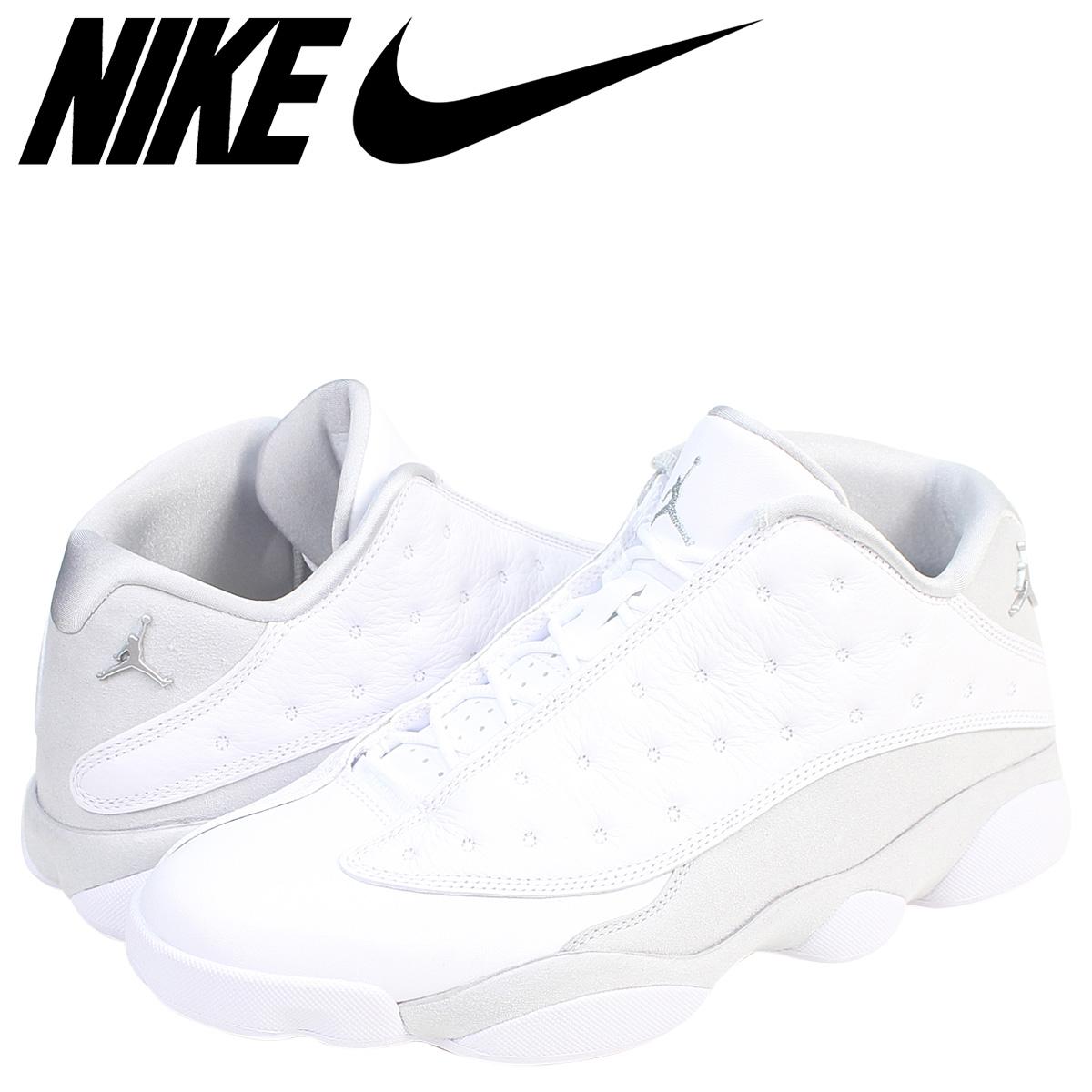 ea4407e42768 NIKE Nike Air Jordan 13 nostalgic low sneakers AIR JORDAN 13 RETRO LOW PURE  MONEY 310,810 ...