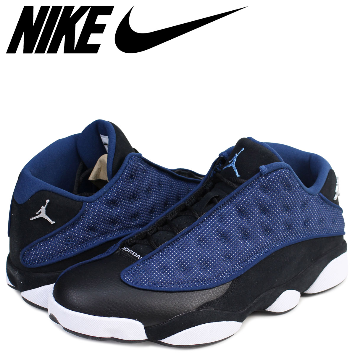 best website 4c383 5ba70 ... white metallic silver midnight navy ice blue eeefa 5cdbf  coupon code  for nike nike air jordan 13 nostalgic low sneakers air jordan xiii retro low