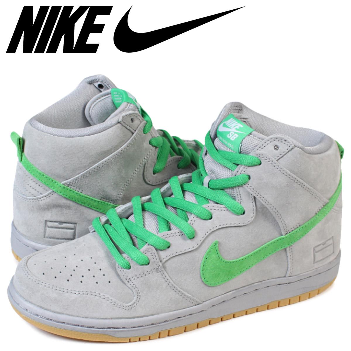 size 40 b0cc5 c578d NIKE SB Nike dunk sneakers men DUNK HIGH SILVERBOX 313,171-039 silver ...