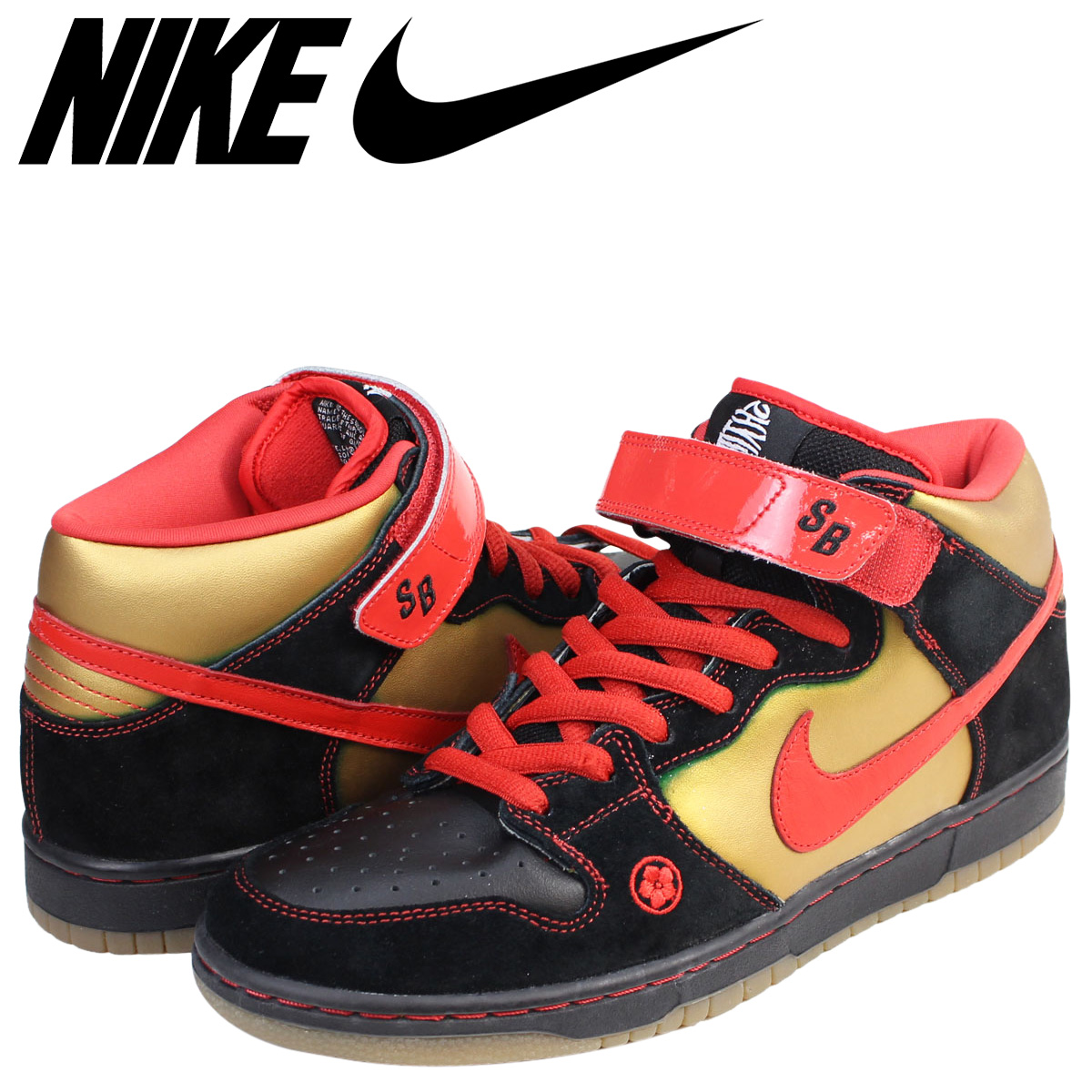 best website e899e 83849 NIKE Nike SB dunk sneakers DUNK MID PRO MONEY CAT men 314,383-061 shoes  black
