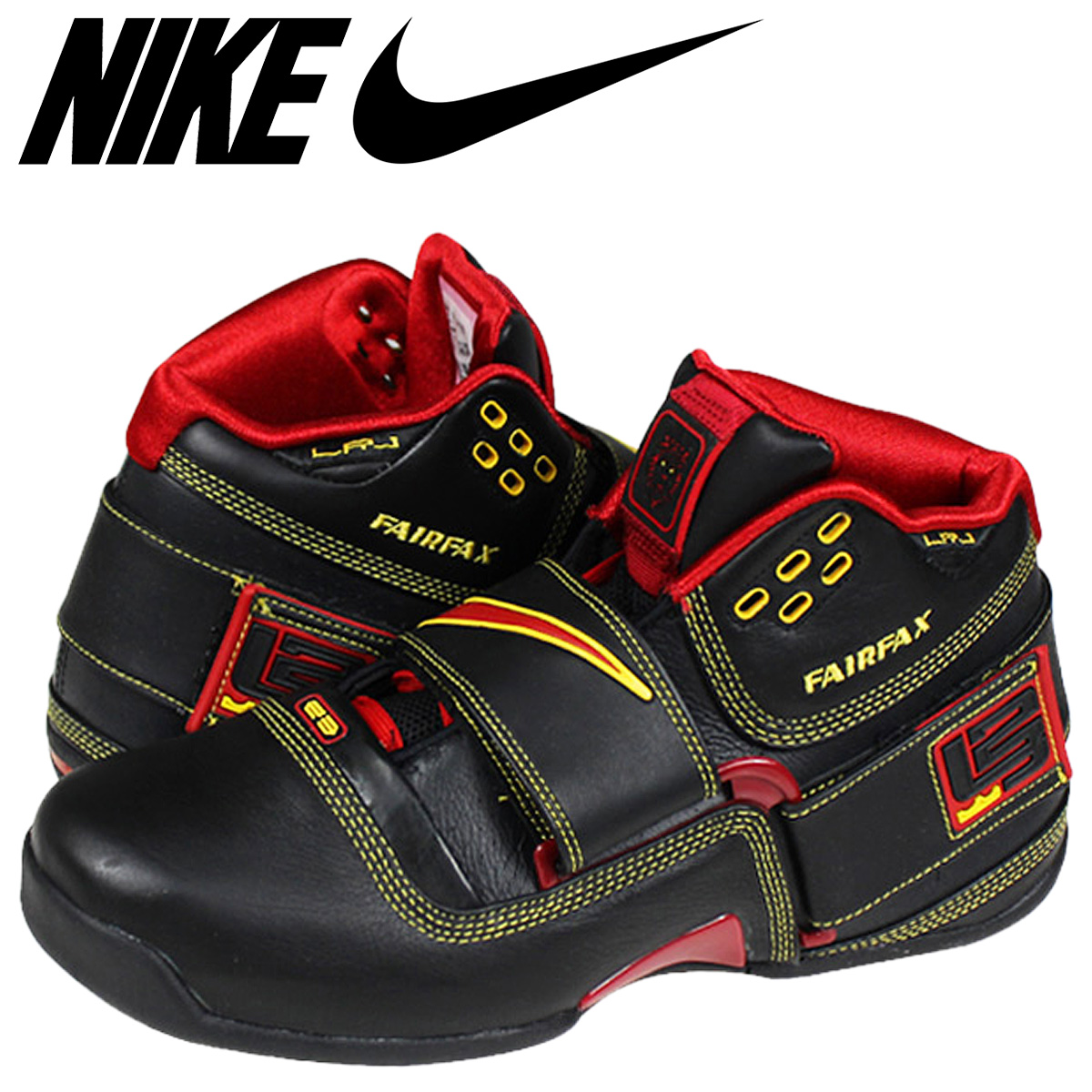 new concept 50447 d8a31 Nike NIKE zoom soldier sneaker ZOOM SOLDIER LeBron James 316643-062 black  red mens ...