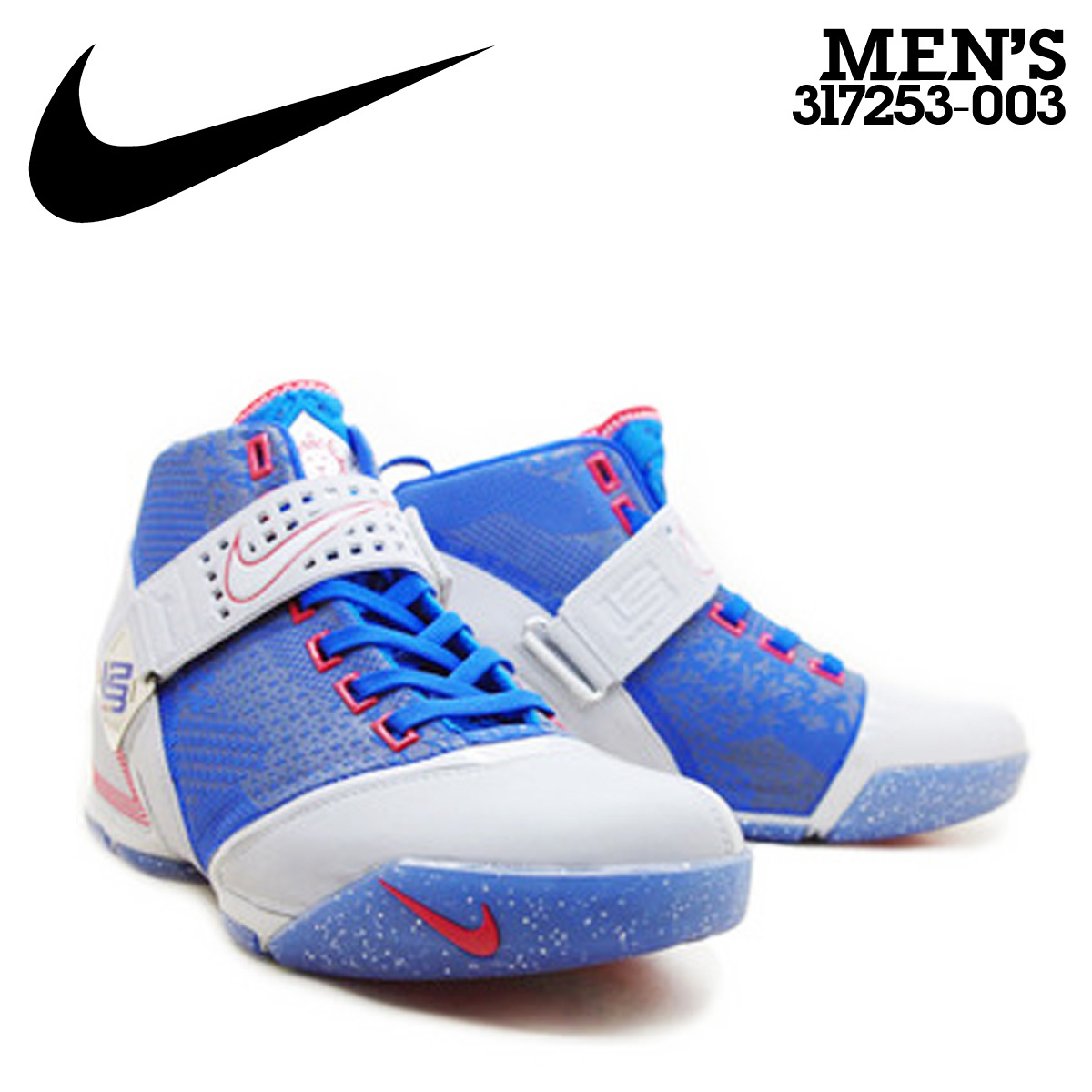 8b6196d52d2c Nike NIKE zoom LeBron sneaker ZOOM LEBRON V ALL STAR all-star 317253-003  men s blue