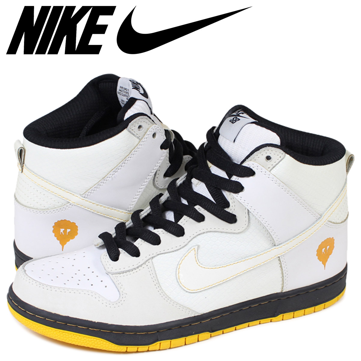 quality design 4d8a8 c8731 ALLSPORTS Nike NIKE dunk sneakers DUNK HI CUSTOM SERIES MADE IN BRAZIL  320,701-102 white men  Rakuten Global Market