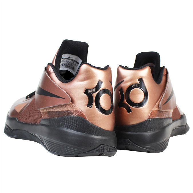 a84944e7bfe7 Nike NIKE zoom sneakers ZOOM KD IV CHRISTMAS EDITION Kevin Durant 4  Christmas limited edition 473679-700 men s metallic copper