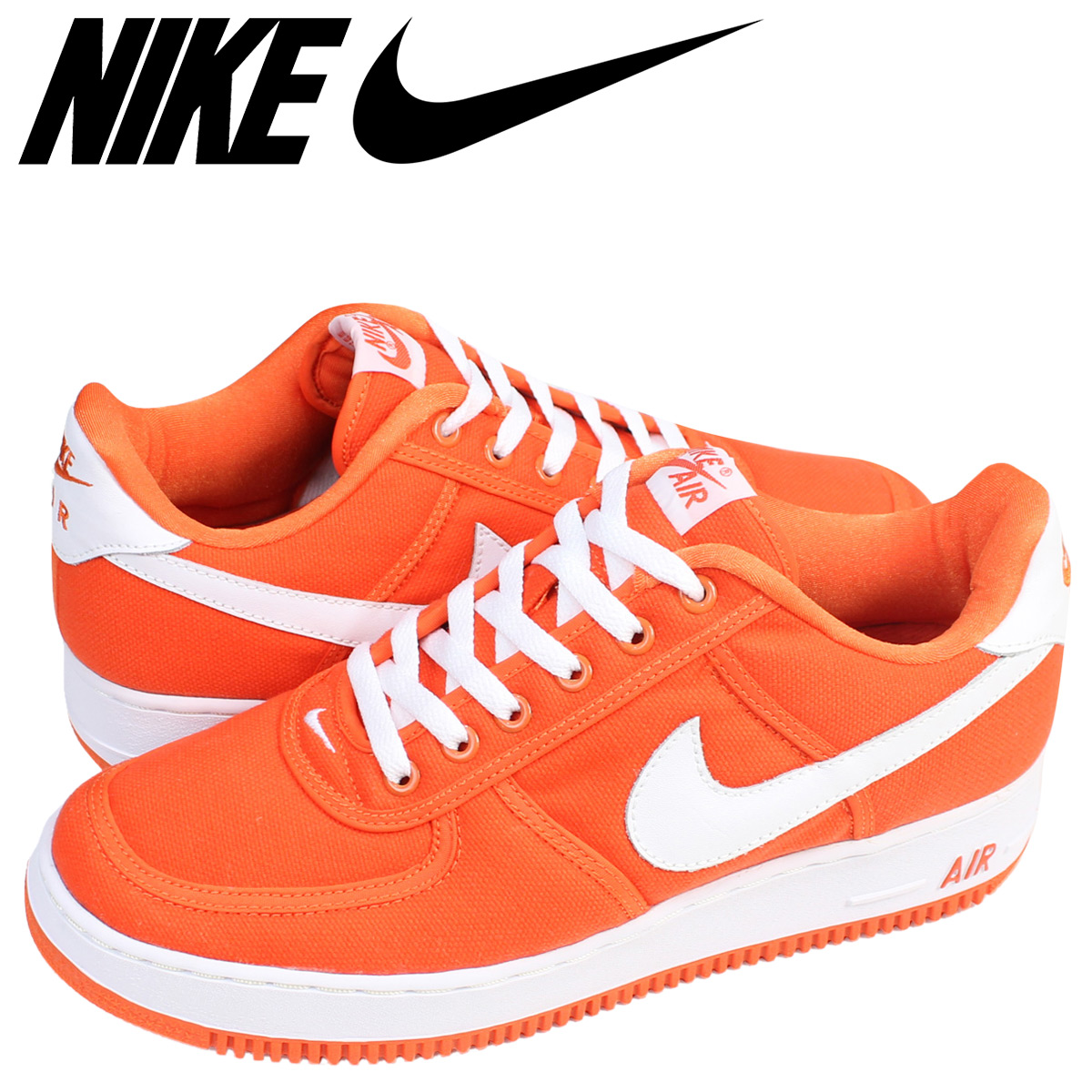 online for sale great deals great fit NIKE Nike air force 1 sneakers AIR FORCE 1 CANVAS 624,020-811 men's shoes  orange