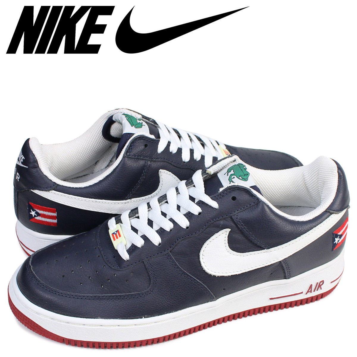best service 31ad4 730fd NIKE Nike air force 1 sneakers AIR FORCE 1 LOW PUERTORICO 3 low 624,040-411  ...