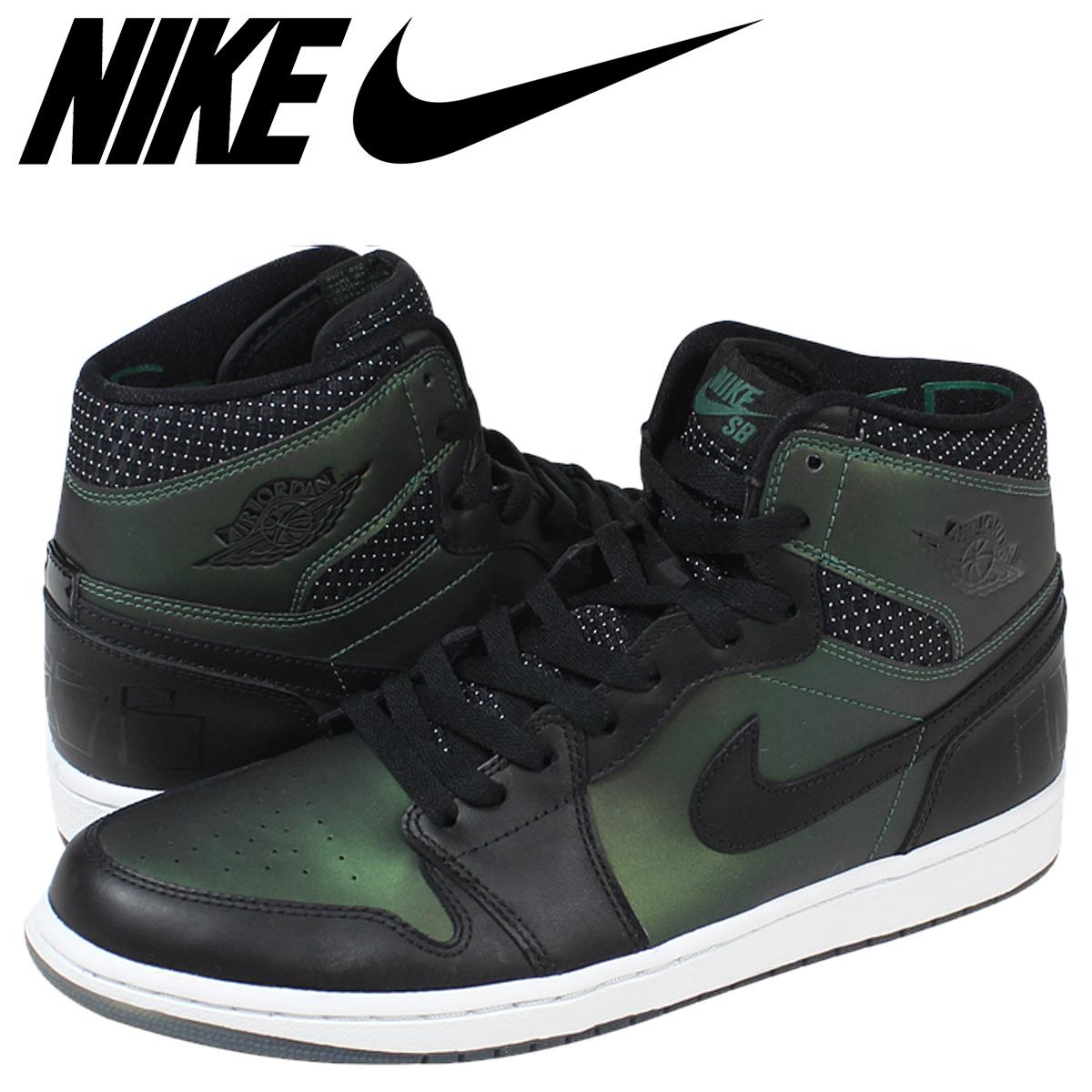 Nike NIKE SB Air Jordan sneakers AIR JORDAN 1 Air Jordan 1 653,532-001  black men