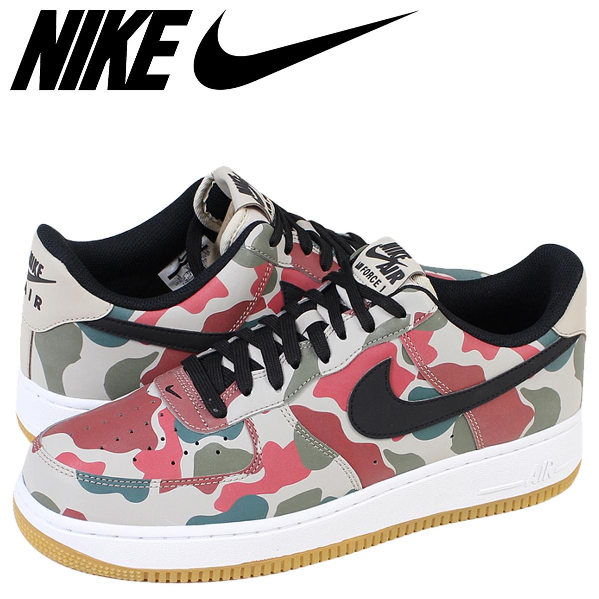 NIKE AIR FORCE 1 07 LV8 air force Nike sneakers air force 718,152 201 camouflage men